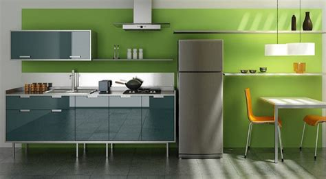 kitchen colour design green kitchen design ideas