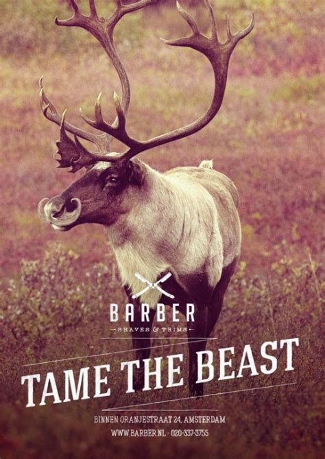 When Tamed The Beast Menaklukkan Sang Dokter cagne barber shaves trims by 180 amsterdam 123 inspiration