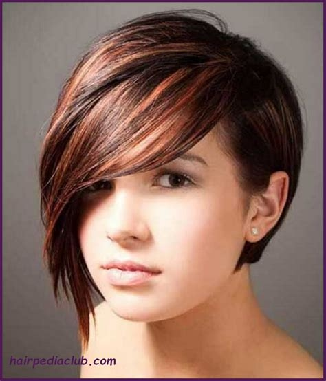 a symetric hair cut round face asymmetric bob short haircuts for fine hair and round