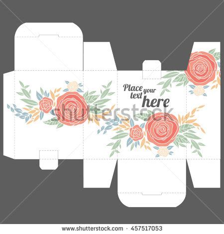 wedding favor box template favor stock photos images pictures