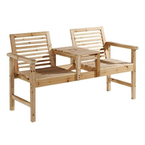 love seat garden bench garden furniture wooden chairs twin tier table jack and