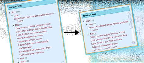 tutorial buat website html tutorial buat scroll box untuk blog archive dunia maya