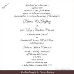 Wedding Invitation Wording Template by Invitation Wording Truly Madly Deeply Pty Ltd