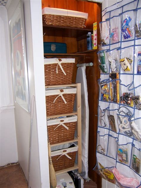Utility Closet Organizer by Shoe Organizer Ideas