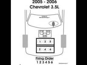 replacing chevy uplander spark plugs 3 5l 3 9l v6
