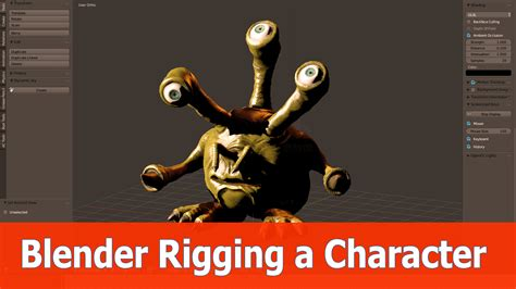 tutorial rigging blender pdf rig a character with blender blendernation