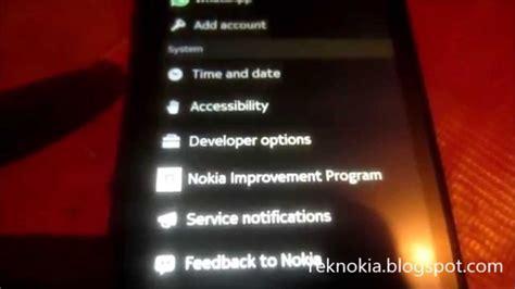nokia dual sim without activate developer option usb debugging on nokia x2 dual