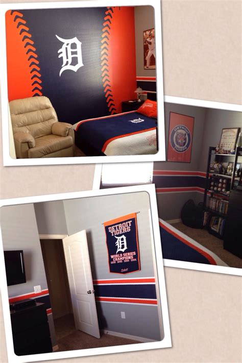 Detroit Tigers Bedroom Decor by Detroit Tigers Bedroom For The All Time Fan Stuff I
