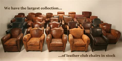 Sale Armchair French Vintage Leather Club Chairs For Sale Shop Online