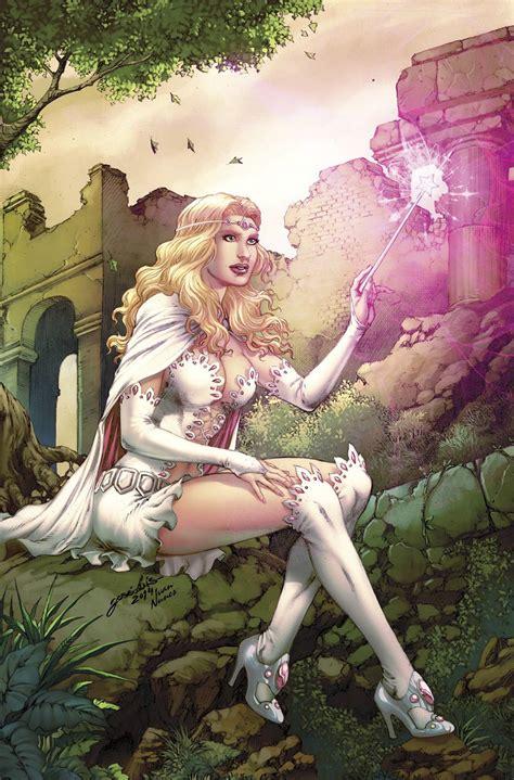 grimm fairy tales zenescope wizard fantasy warrior