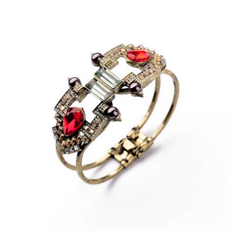 Gelang Stainless Steel Bohemia Open Cuff compare prices on ruby bangles shopping buy low price ruby bangles at factory price