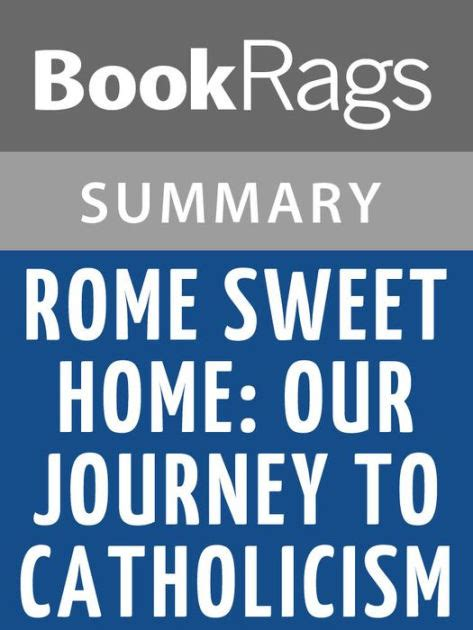 rome sweet home our journey to catholicism by hahn