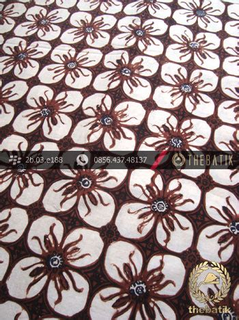 Kemeja Batik Sogan Kawung baju batik tulis jogja bajubatik
