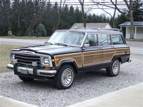 1987 jeep wagoneer interior 1987 jeep grand wagoneer overview cargurus