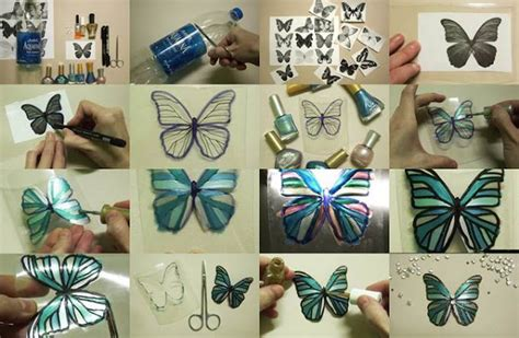 Handmade Things With Plastic Bottles - beautiful butterfly from plastic bottle crazzy craft