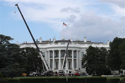 white house renovation trump in pictures the oval office and west wing after