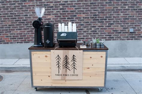 mobili marzocco three pines coffee a salt lake city cart going brick and