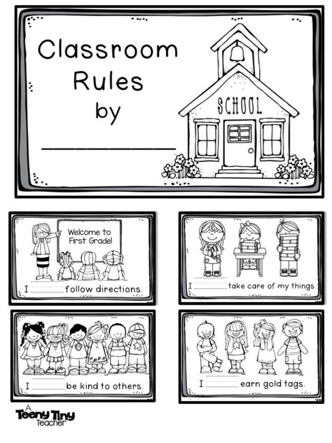 coloring pages school rules classroom rules coloring pages