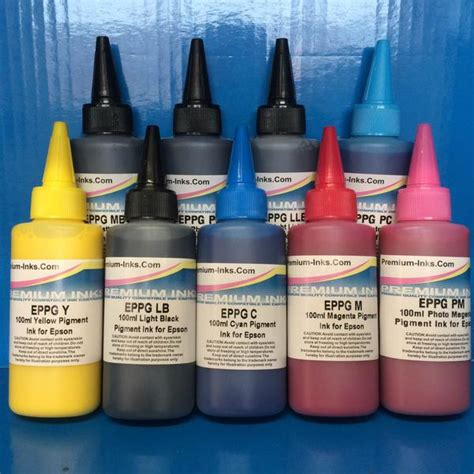 Fast Print Dye Based Photo Premium Epson R2400 Light Magenta 250ml compatible generic refillable printer ink cartridges and