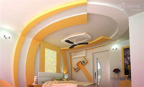 false ceiling designs  bedroom saint gobain gyproc