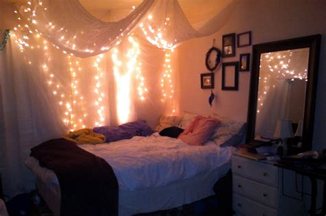 Bedroom Hanging Lights Ideas Best Ideas About String Lights Bedroom Sensi With Hanging