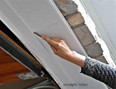 Garage Door Weather Seal Replacement by Serendipity Refined How To Replace A Garage Door