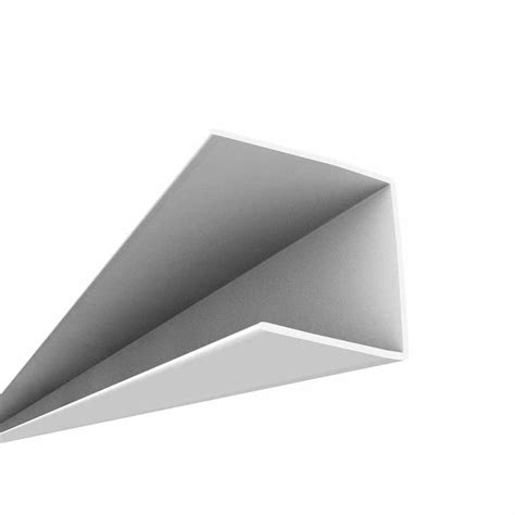ceilingmax surface mount grid wall bracket in gloss white