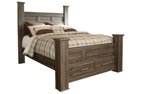 jeri king bed with storage footboard at gardner white