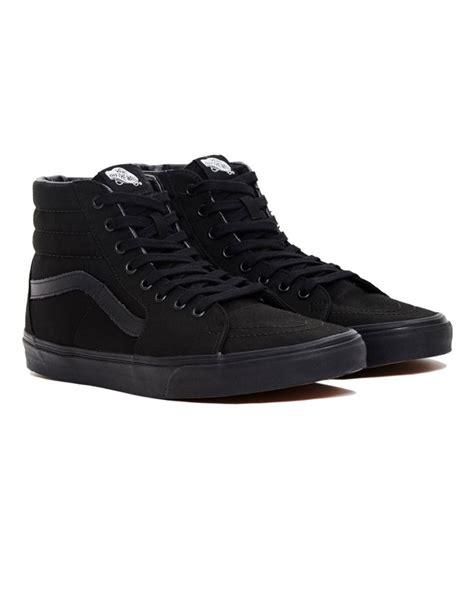all black sneaker best 25 all black vans ideas on black vans