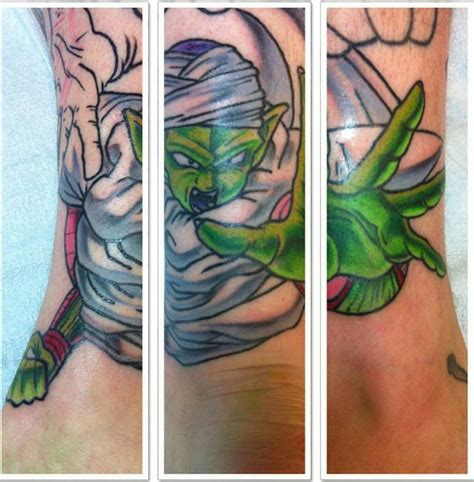 dragon ball tattoo designs ideas featuring piccoloonpoint tattoos