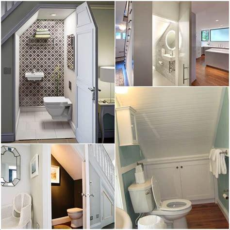 under stairs bathroom amazing interior design