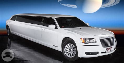 Limo Reservation by White Chrysler 300c Sunset Luxury Limousines