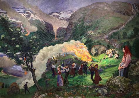 painting norway nikolai astrup 1857599888 nikolai astrup norwegian painter