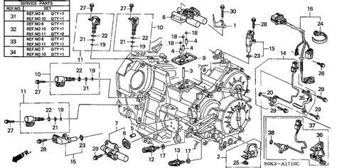 acura tl shift solenoid wiring diagrams repair wiring scheme