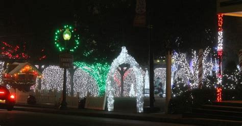 christmas lights grapevine tx christmas decorations downtown grapevine picture of