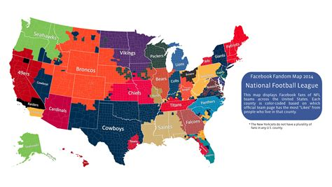 map usa football teams is this what the u s would look like if nfl fan