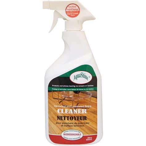 aquashine hardwood laminated floors cleaner oz