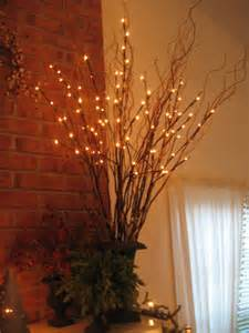 lighted tree branches tin bin folkways lighted willow branches