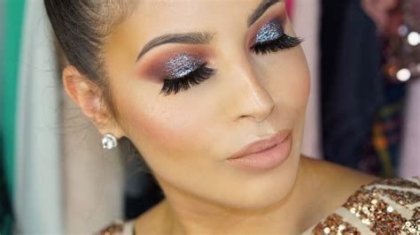 makeup for new year glitter eyeshadow new years makeup tutorial