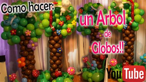 como hacer un pino de globos como hacer un 193 rbol en globos diy how to make a tree in balloons