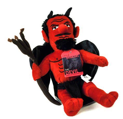 The Devil Soft Toy - Little Thinkers Doll | Pink Cat Shop Fridge Magnet Toys