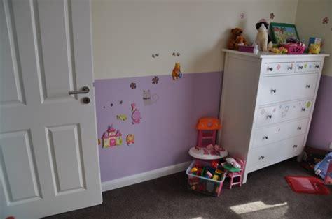 kinderzimmer mädchen ideen wandgestaltung design babyzimmer