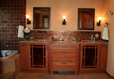Mission Style Bathroom Craftsman Style Bathroom Cabinets Mission Style Bathroom Craftsman Bathroom Cabinets Tsc