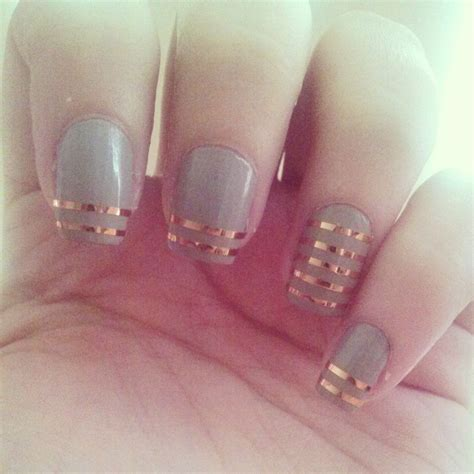 design your nails with tape nail design with nail tape nails pinterest