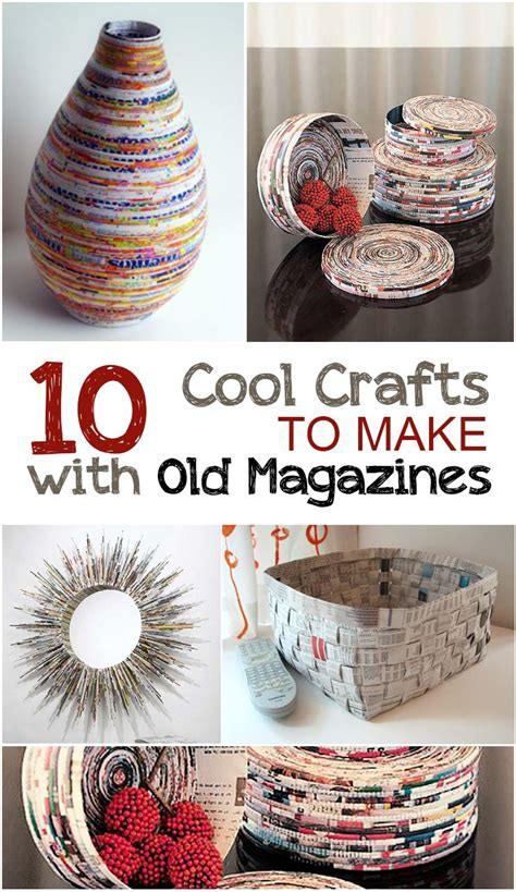 cool decorations to make at home creative crafts to make with magazines cr 233 atif
