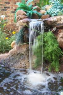 garden waterfalls ideas living interior design photos