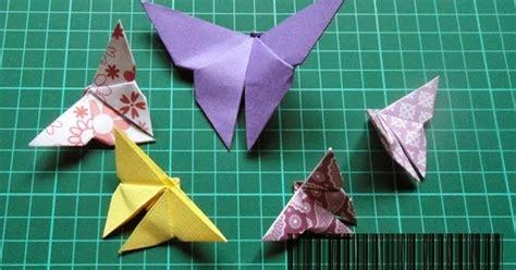 membuat origami yang sangat mudah origami rama rama yang mudah from famf tower