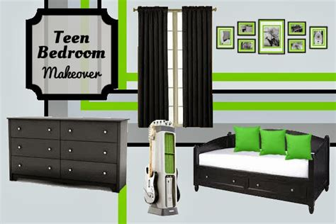 Bedroom Design Teen Boys Xbox Inspired Room Makeover