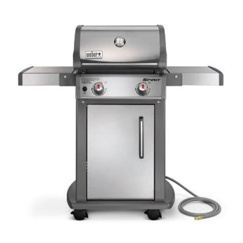 weber spirit s 210 2 burner stainless steel gas
