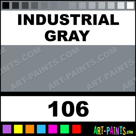 colors that work with gray industrial gray industrial colorworks enamel paints 106
